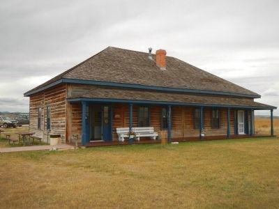 Fort Fetterman Vistor's Center and Museum image. Click for full size.