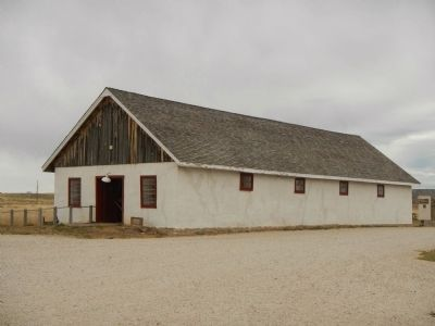 Rammed-earth Ordnance Warehouse image. Click for full size.