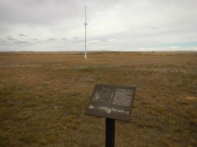 Fort Fetterman Parade Ground image. Click for full size.