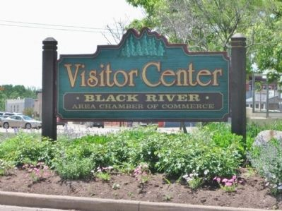 Black River Area Chamber of Commerce Visitor Center Sign image. Click for full size.