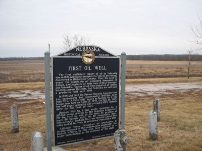 First Oil Well Marker image. Click for full size.
