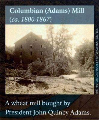 Columbian (Adams) Mill<br>(ca. 1800-1867) image. Click for full size.