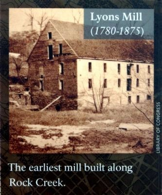 Lyons Mill<br>(1780-1875) image. Click for full size.
