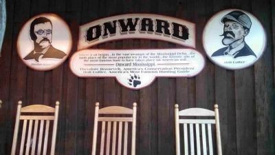 Teddy Roosevelt's Bear Hunt & Onward Display image. Click for full size.