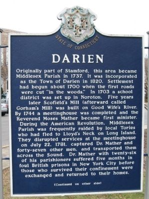 Darien Marker image. Click for full size.