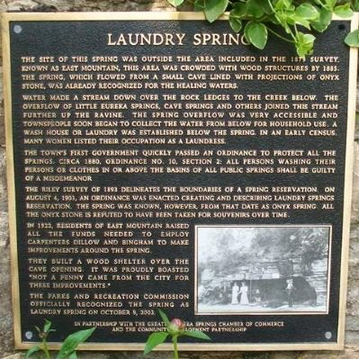 Laundry Spring Marker image. Click for full size.