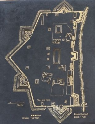 Fort Plan from 1778 image. Click for full size.