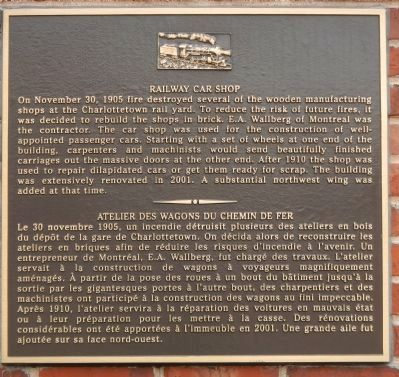 Railway Car Shop Marker image. Click for full size.