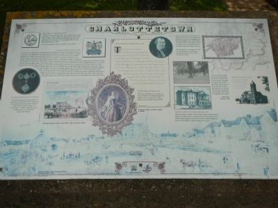 Charlottetown Marker image. Click for full size.