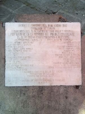 Another Spanish Embassy Fire marker image. Click for full size.