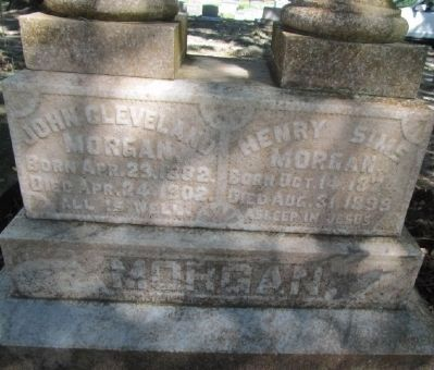 Henry Sims Morgan gravesite Photo, Click for full size