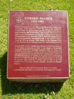 Edward Palmer Marker image. Click for full size.
