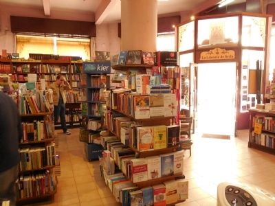 Interior of the bookstore image. Click for full size.