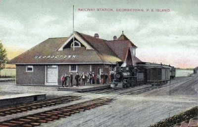 Georgetown Railway Station image. Click for full size.