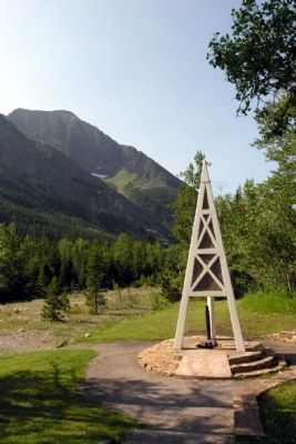 Western Canada's 1st Producing Oil Well Monument image. Click for full size.