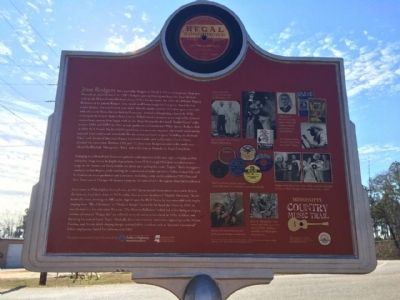 Jesse Rodgers Marker (Rear) image. Click for full size.