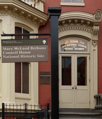 Mary McLeod Bethune<br>Council House<br>National HIstoric Site image. Click for full size.