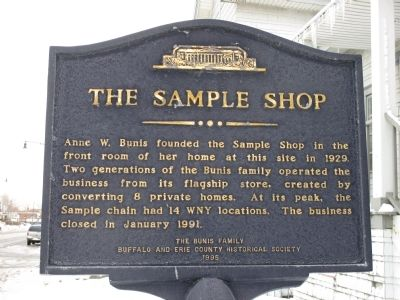 The Sample Shop Marker image. Click for full size.
