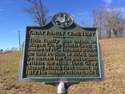 Gray Family Cemetery Marker image. Click for full size.