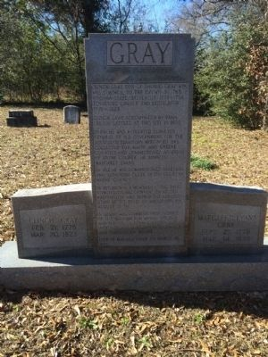 Clinch Gray gravestone image. Click for full size.