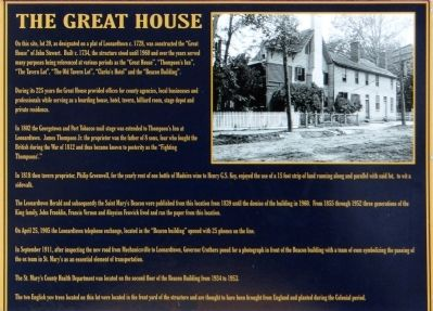 The Great House Marker image. Click for full size.