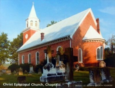 Christ Episcopal Church, Chaptico image. Click for full size.