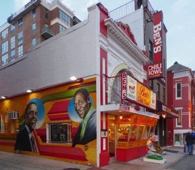 Ben Ali Alley Murals at Ben's Chili Bowl image. Click for full size.