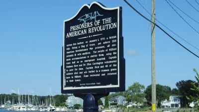 Prisoners of the American Revolution Marker image. Click for full size.