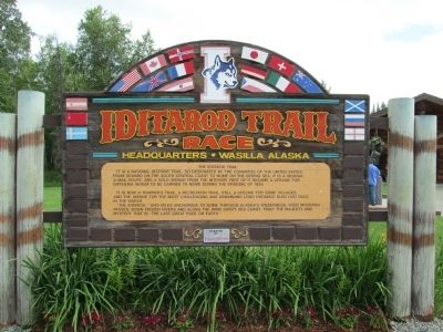 Iditarod Trail Sled Dog Museum image. Click for full size.