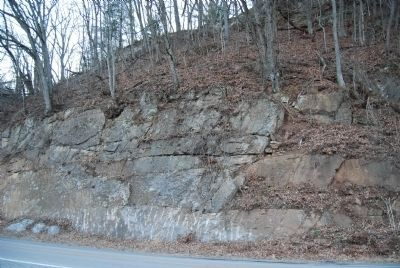 Oriskany Sand Across the Road image. Click for full size.