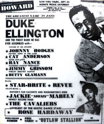 Duke Ellington<br>and the Finest Band He has Ever Assembled. image. Click for full size.