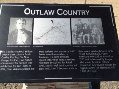 Outlaw Country Marker image. Click for full size.