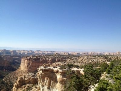 Canyons and beyond view. image. Click for full size.