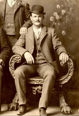 Butch Cassidy (Robert Leroy Parker) - circa late 1800's image. Click for full size.