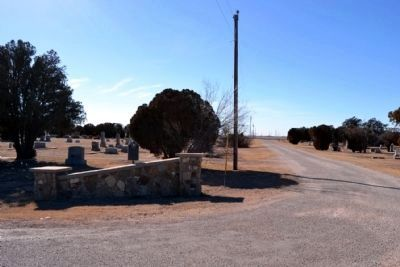 Entrance to Roscoe Cemetery image. Click for full size.