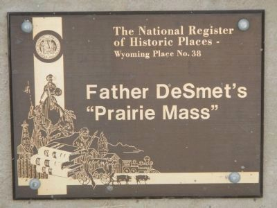 "Father DeSmet's ""Prairie Mass"" image. Click for full size."