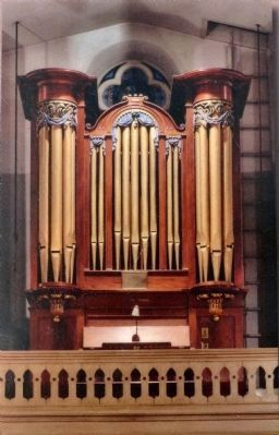Organ Pipes<br>St. Joseph&#39;s Catholic Church image. Click for full size.