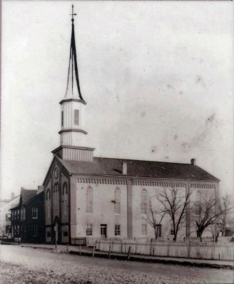 Trinity Lutheran Church<br>1863 image. Click for full size.