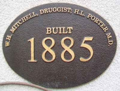 Mitchell - Porter Building Marker image. Click for full size.