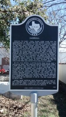 Jarrell Marker image. Click for full size.