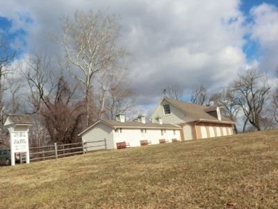 Mount Harmon Plantation-Horse stables image. Click for full size.