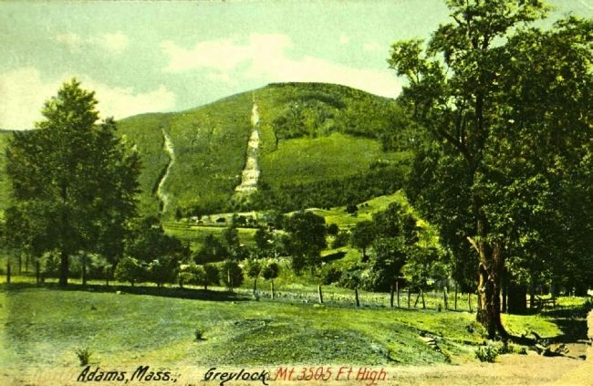 <i>Adams, Mass. Greylock Mt. 3505 Ft High.</i> image. Click for more information.