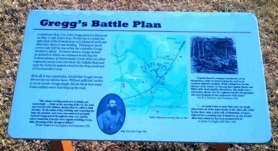 Gregg's Battle Plan Campaign Marker Photo, Click for full size
