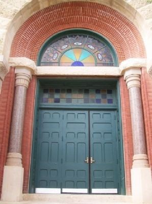 McPherson Opera House South Doorway image. Click for full size.