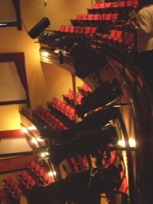 McPherson Opera House Seating image. Click for full size.