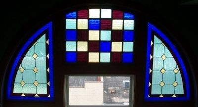 McPherson Opera House Window image. Click for full size.