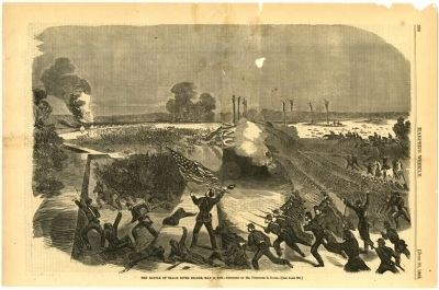 Battle of the Big Black River Bridge image. Click for full size.