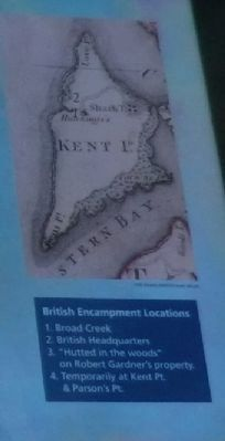 Close up of the map on the British Command Marker image. Click for full size.
