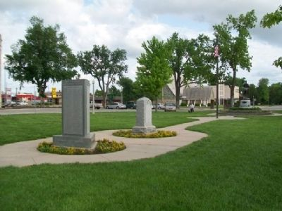 McPherson County War Memorial image. Click for full size.