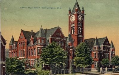 Postcard of the Old Central School image. Click for full size.